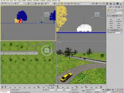 Screenshot aus 3ds Max